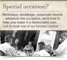Special occasions?